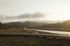 They made 100-mile biking journey