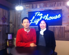 Producers in the Lighthouse Studio